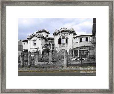 In Need Of Rescue In San Jose Framed Print by Al Bourassa