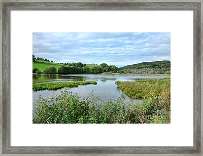 In Norman Switzerland Framed Print by Olivier Le Queinec
