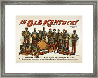 In Old Kentucky Framed Print