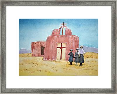 In Old New Mexico II Framed Print by Michele Myers