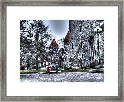 In Old Tallin City Framed Print
