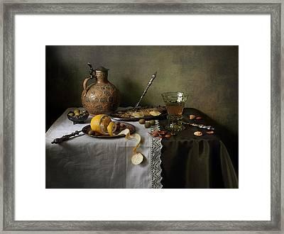 In Olive Tones  Framed Print