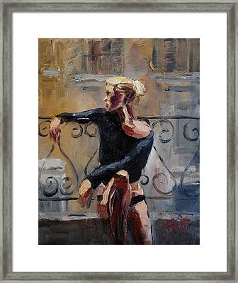 In Paris Framed Print by Carole Foret