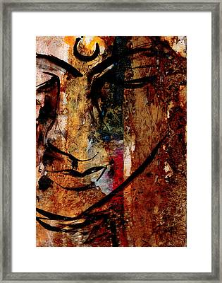 In Peace Framed Print by Kathy Morton Stanion