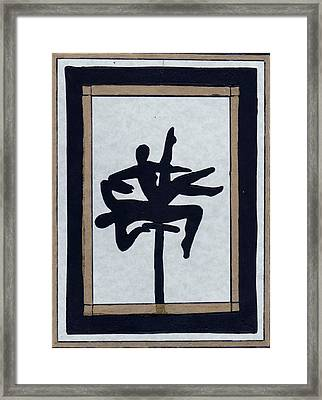 In Perfect Balance Framed Print