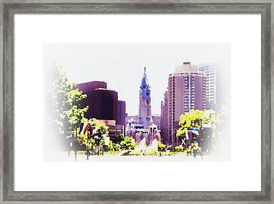 In Philadelphia Framed Print