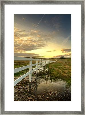 In Plain View Framed Print by Randy Wood