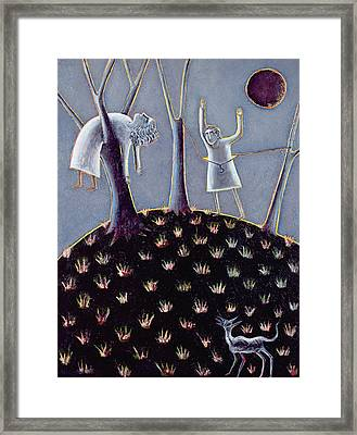 In Praise Of Expectation, 1991 Oil On Canvas Framed Print