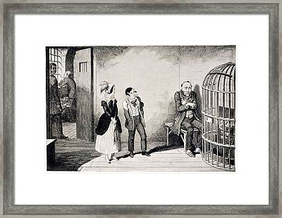 In Prison Framed Print by British Library