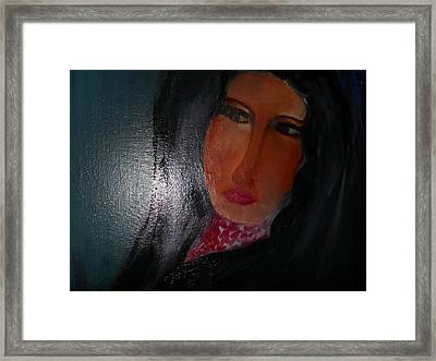In Pursuit Of A Deceitful Lover Framed Print by Rashmi  Singh