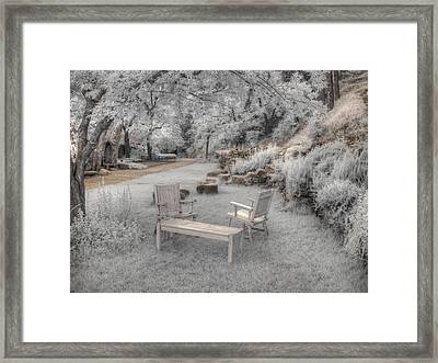 In Quiet Places Framed Print