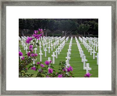 Framed Print featuring the photograph In Rememberance by Lucinda Walter