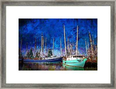In Safe Harbor Framed Print by Barry Jones