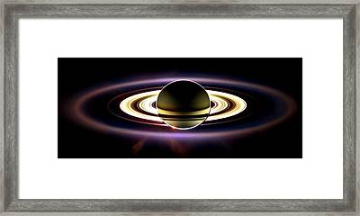In Saturn's Shadow Framed Print by Benjamin Yeager