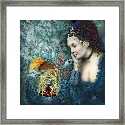 In Search Of Balance II Framed Print by Wayne Pruse