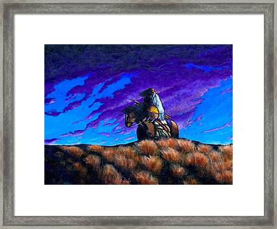 In Search Of The Vanished Framed Print by Joe  Triano