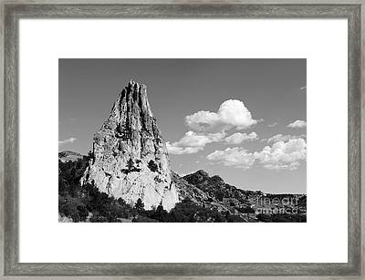 In-spire-d Framed Print by Charles Dobbs