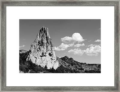 In-spire-d Framed Print by Charles Dobbs