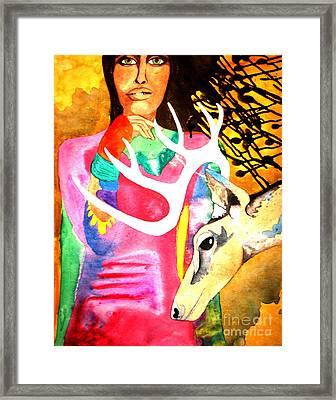 In Spirit Framed Print by Amy Sorrell