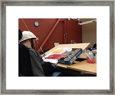 In Studio Framed Print