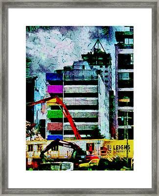 In Technicolor  Framed Print by Steve Taylor