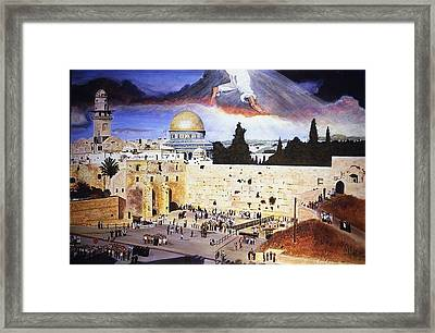 In That Day Framed Print