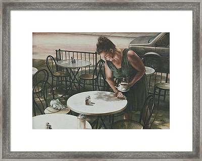 In The Absence Of A Dream Framed Print