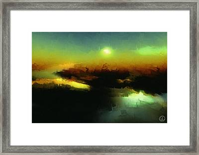In The Afternoon Sun Framed Print by Gun Legler