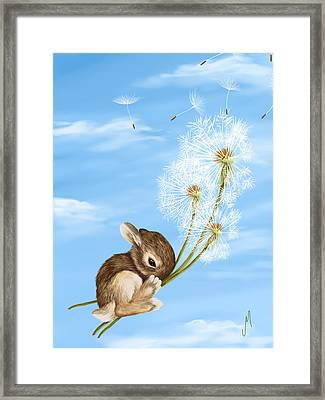 In The Air Framed Print by Veronica Minozzi