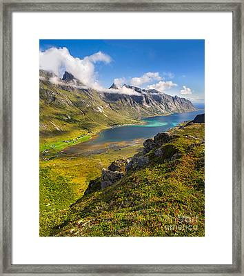 In The Arctic Circle Framed Print by Maciej Markiewicz