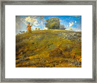 In The Auvergne Framed Print by Celestial Images
