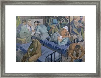 In The Barracks, 1989 Framed Print