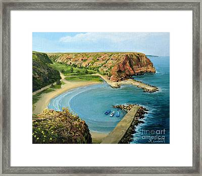 In The Bay Framed Print by Kiril Stanchev