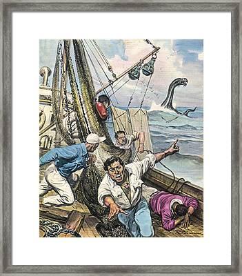 In The Bay Of Rio De Janeiro, Brazil Framed Print