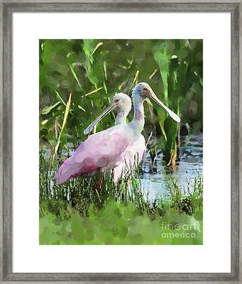Framed Print featuring the photograph In The Bayou #2 by Betty LaRue