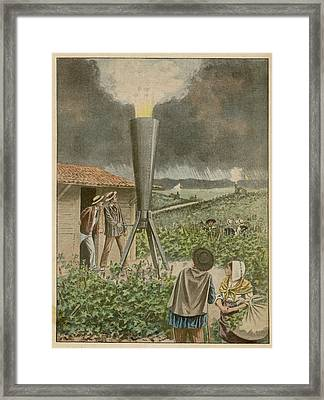 In The Beaujolais Area  Guinand's Framed Print