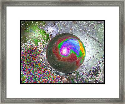 In The Beginning 2nd Generation Framed Print by Glenn McCarthy Art and Photography