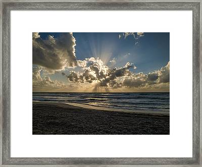 In The Beginning Framed Print by Meir Ezrachi