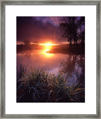 In The Beginning Framed Print by Ray Mathis