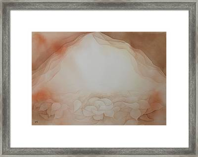 Framed Print featuring the painting In The Beginning by Richard Faulkner
