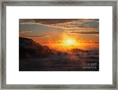 In The Beginning Framed Print by Scott Thorp