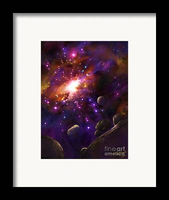 Elohim Framed Prints