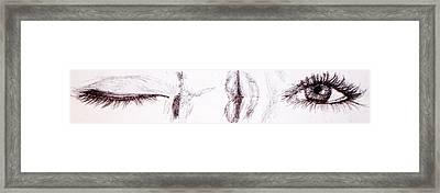 In The Blink Of An Eye Framed Print