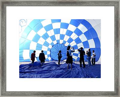 Framed Print featuring the photograph In The Blue by Christopher McKenzie