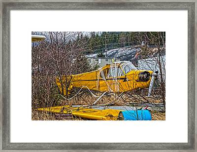 Framed Print featuring the photograph In The Bone Yard by Timothy Latta