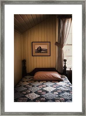 In The Boys Room Framed Print