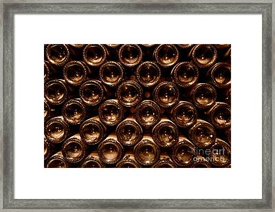 In The Cellar Framed Print