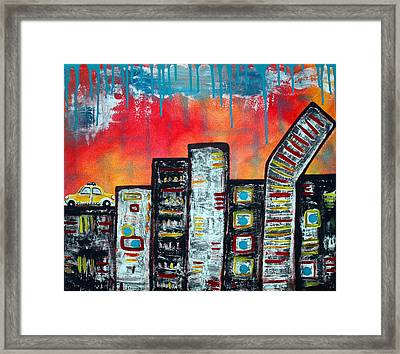 In The City 1 Framed Print by Laura Barbosa