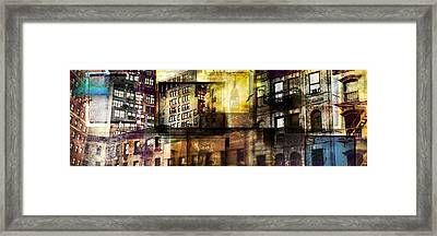In The City Framed Print by Jeff Klingler