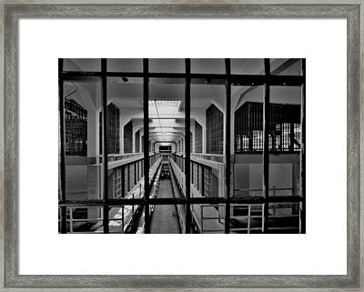 In The Clink Framed Print by Benjamin Yeager